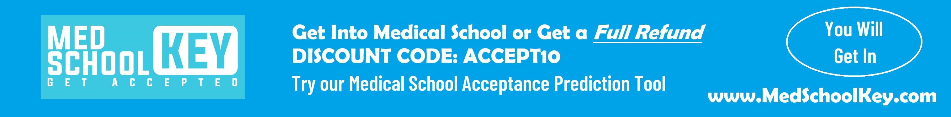 Go to www.MedSchoolKey.com to get into med school